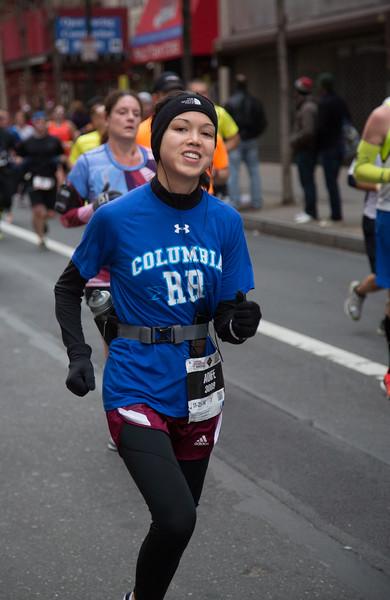 Aoife's Philadelphia Marathon 2014